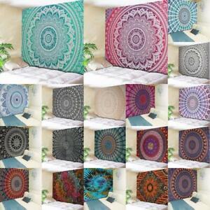Boho-Mandala-Tapestry-Indio-Colgante-De-Pared-Decoracion-Manta-Estera-de-Toalla-de-playa