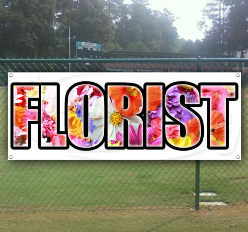 FLORIST Advertising Vinyl Banner Flag Sign Many Sizes Available USA