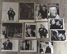 REMORQUES - GABIN / MORGAN / M. RENAUD - LOT 12 PHOTOS CINEMA PRESSE