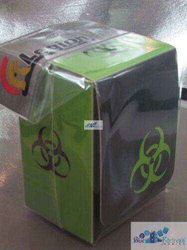 LEGION SUPPLIES DECK BOX CARD BOX BIOHAZARD FOR MTG WoW Pokemon cards