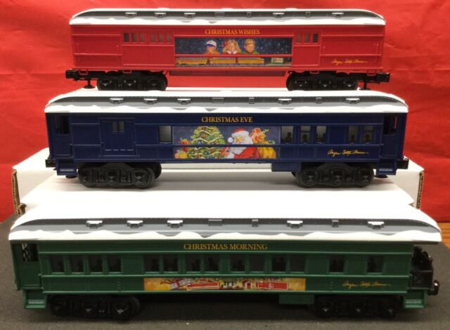 Lionel O Scale Angela Trotta Thomas Christmas Passenger Car 3-pack #684765 for sale online