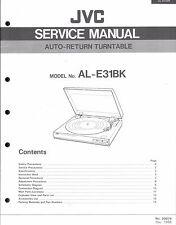 ,JVC Original Service  für AL-E 31