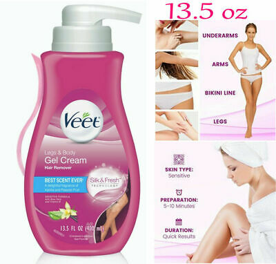 13 5 Oz Veet Hair Removal Sensitive Moisturizing Men Women Cream