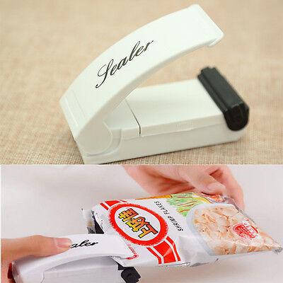 3xMini tragbar Folienschweißgerät Haushalt Tüten Tasche Verschließen Hand Sealer