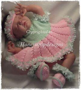 5eb3e60f8 Honeydropdesigns   Irina   Ballerina   PAPER KNITTING PATTERN   Baby ...
