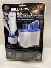 BELL + HOWELL SONIC BREATHE Ultrasonic Personal Humidifier
