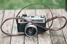 APERPURE Leather Camera Strap Shoulder/Neck Fits DLSR , film cameras - Brown