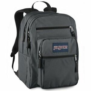 JanSport-NWT-Big-Student-Classic-Forge-Gray-Unisex-Backpack-JS00TDN76XD