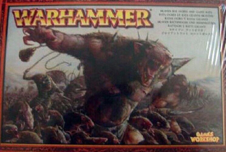 Warhammer Skaven Rat Ogres and Giant  Rats   Games Workshop 2004 Boîte Scellée  mode classique