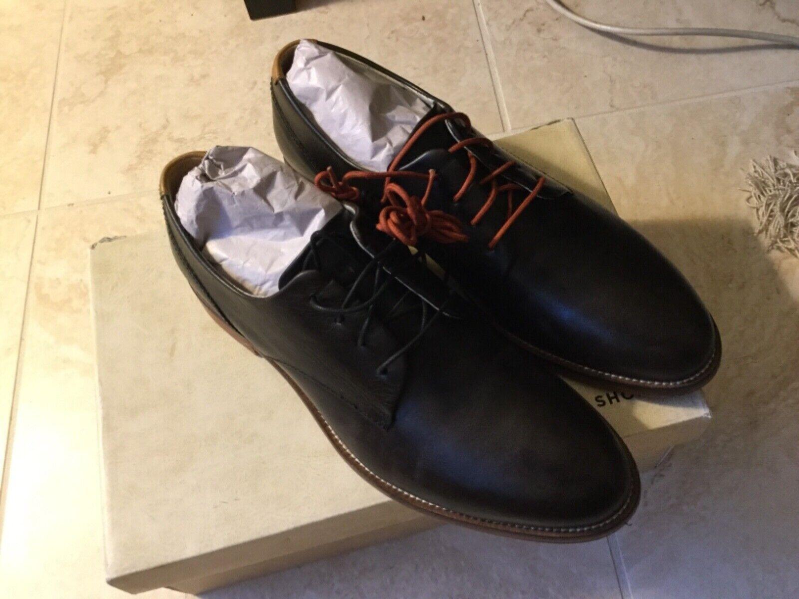 J Zapatos William Llano Toe Derby (hombres Plus) 10.5 M