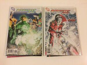 Lot-of-11-Brightest-Day-1-2-3-5-6-7-8-9-13-22-23-DC-Comics-2010