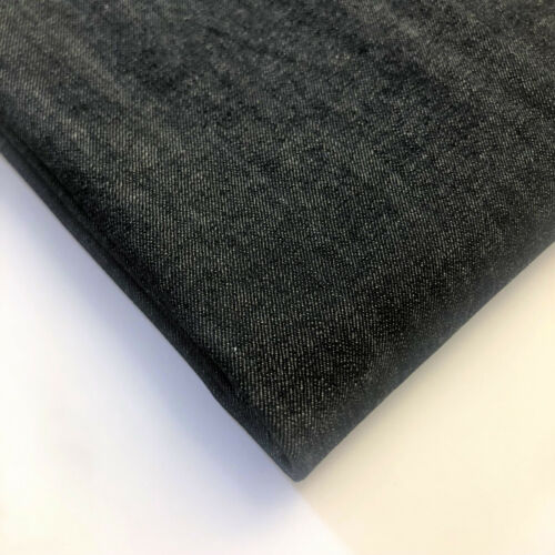 Denim Fabric Light and Medium Weight Stretch and Non Stretch Jean Material 140cm