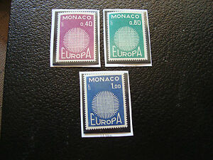 Monaco-Stamp-Yvert-and-Tellier-N-819-A-821-N-A22-Stamp