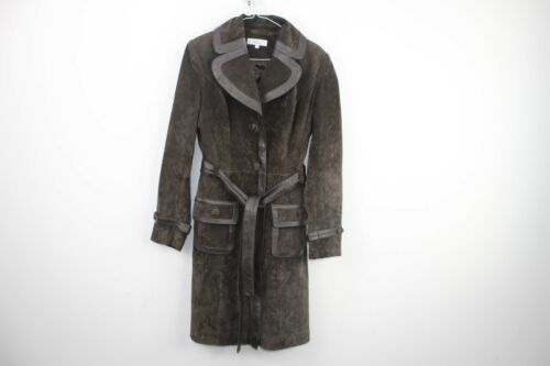 Jacket Next 3 No f2 Maat Leather Brown Real 10 Womens 20 64IwHw