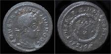 Constantine II Ae follis laurel wreath