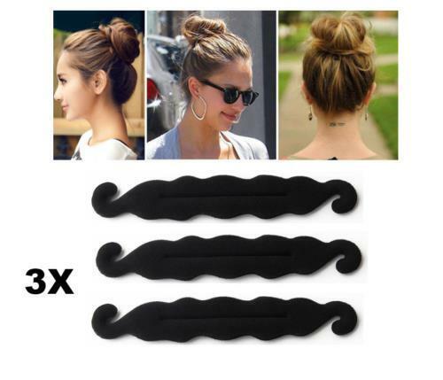 Fashion Maker Magic Women Bun Curler Hair Twist Styling Tool Sponge Clip