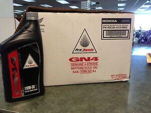 Genuine Honda 6 Quarts GN4 4 Stroke Motor Oil 10W30 GN4 ATV Motorcycle