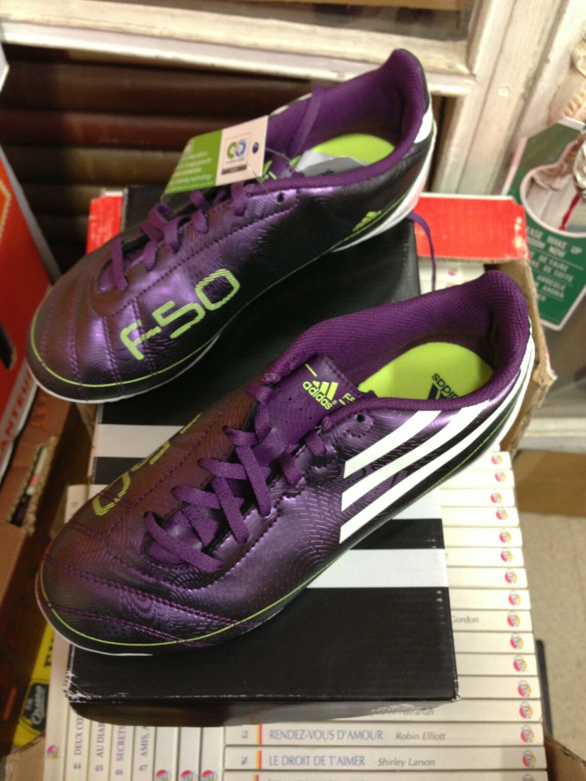 Football shoe man Adidas Size 46 new
