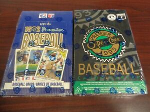 500 ct. 1993 O-Pee-Chee Premier Baseball Cards Sealed Case