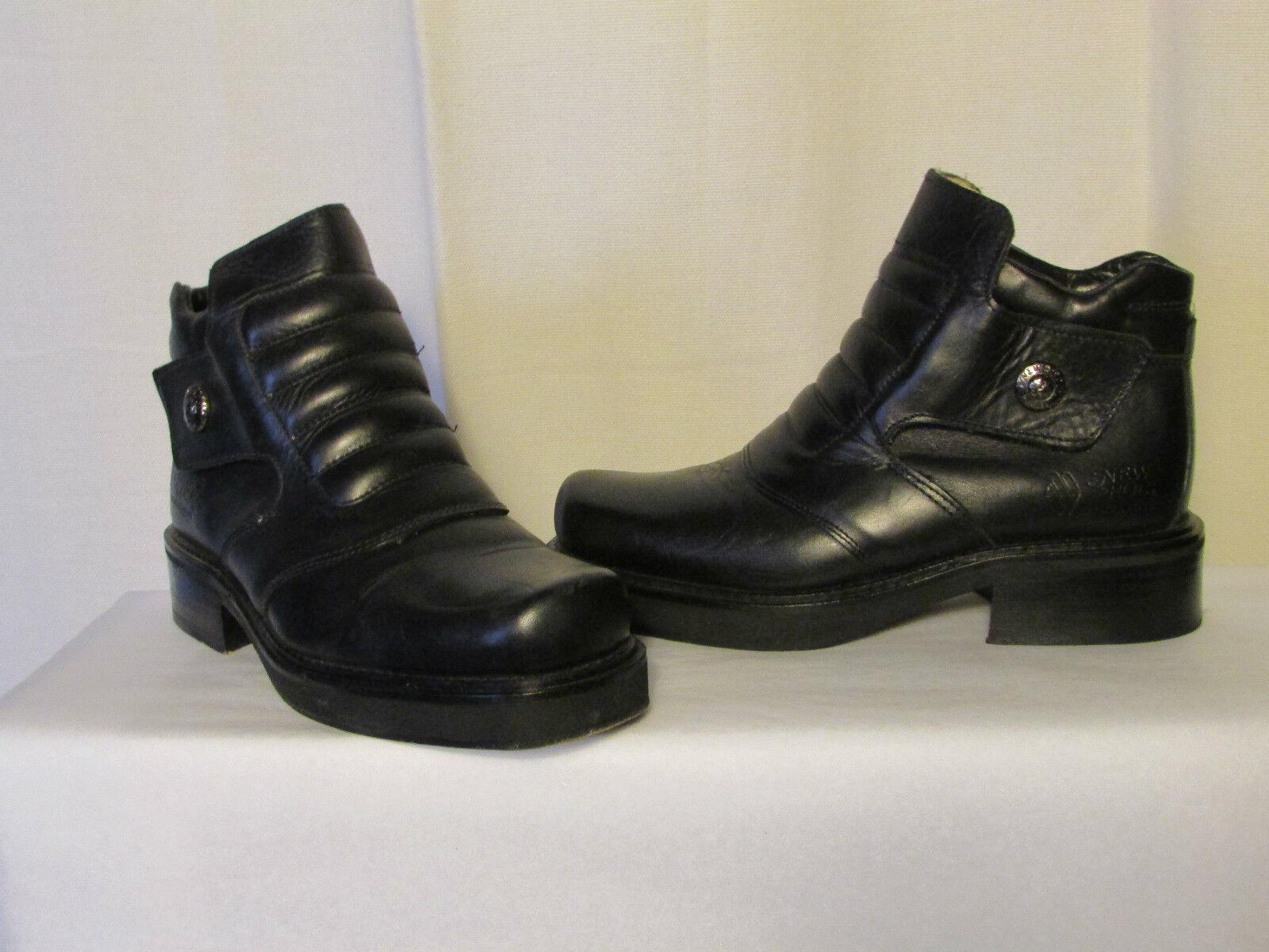 botas botas botas botines nuevo rock cuero negro 36  Precio por piso
