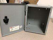 Hoffman A10n86 Nema Type 1 Electrical Enclosure Junction Steel Metal Hinged Box