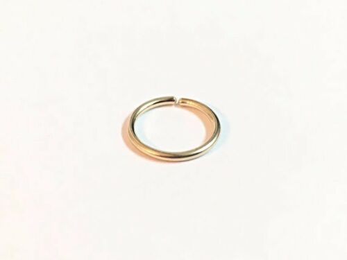 Extra Thin Cartilage Earring Hoop Silver Nose Ring Hoop 10mm Extra