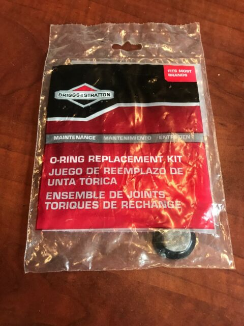 Briggs /& Stratton 6198 Pressure Washer O-ring Replacement Kit for sale online
