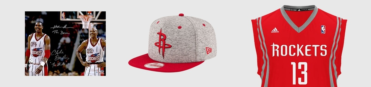 b43382992fe964 Houston Rockets NBA Fan Apparel & Souvenirs for sale | eBay