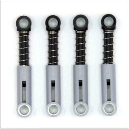 76138 NEW 4 Parts Lego Technic Grey Shock Absorbers Hard Suspension Springs