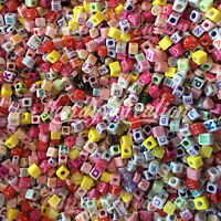Letters Grab Bag Beads 8oz Alphabet For Kandi Craft Kid Bracelet Scout Jewelry