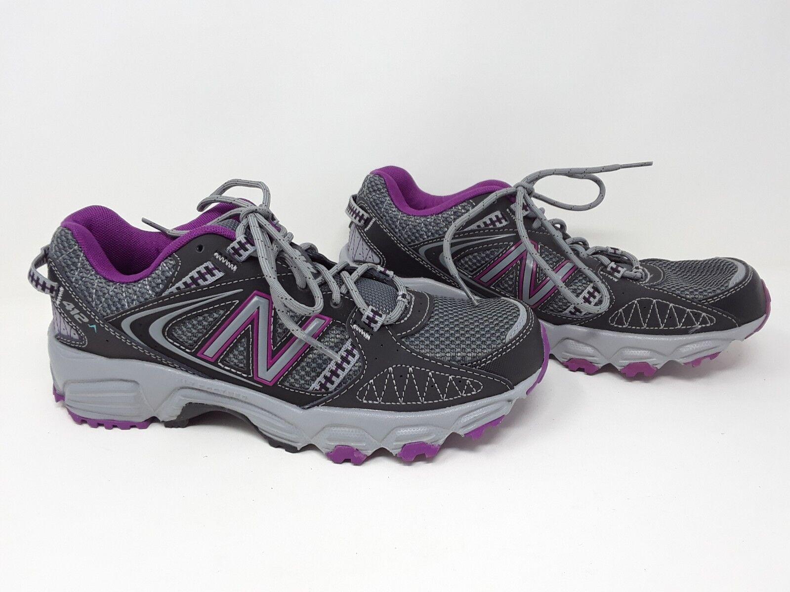 Nouveau  femmes New Balance WTE412S1 Trail-chaussures de course-gris violet G1