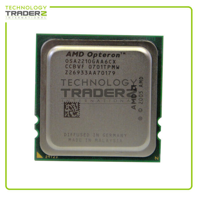 OSA2210GAA6CX AMD Opteron 2210 Dual Core 1.80GHz 2MB Processor