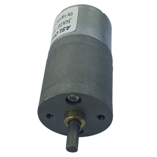 JGA25-310 6V 12V Speed Reduction Gear Motor with Metal Gearbox for Robots /& Car