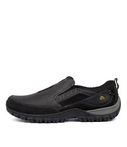 New-Colorado-Tesler-Black-Leather-Black-Mens-Shoes-Casual-Shoes-Flat