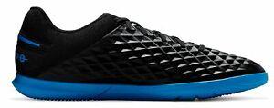 Nike-Hommes-Salles-Chaussures-Fussballschuhe-Nike-Tiempo-Legend-8-Club-IC-Noir