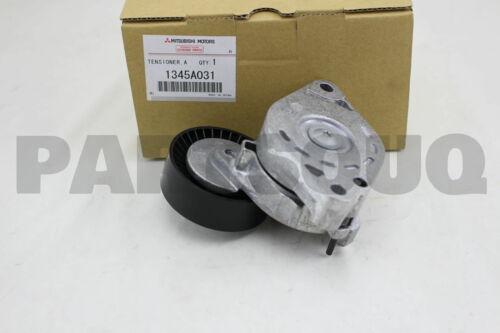 1345A031 Genuine Mitsubishi TENSIONER,ALTNTR BELT AUTO