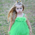 Cute Baby Girl Tutu Lace Princess Dress Flower Formal Party 1Pcs Kids Skirt 2-11