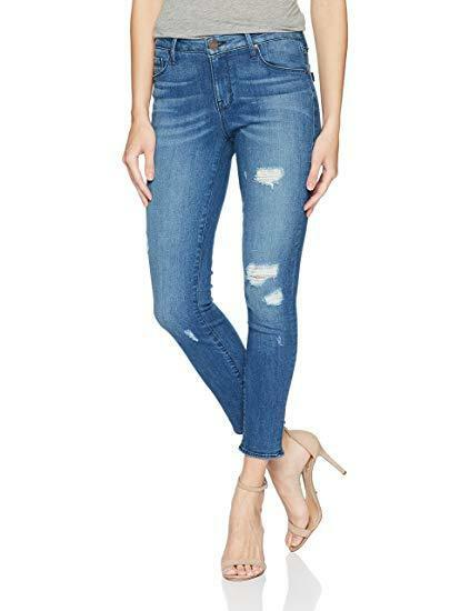 NEW Women's Parker Smith kam Crop Skinny SZ 27 IN Windsurfer Distressed USA