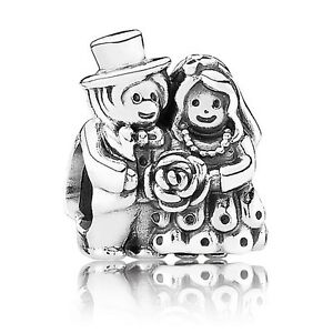 78e3ee7bc Authentic Pandora Mr and Mrs Bride and Groom, Wedding #791116 Love ...