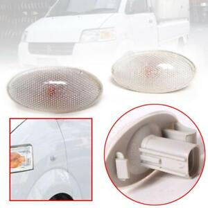 13-Suzuki-Carry-Mini-Truck-Side-Lamp-Light-Oval-Fender-light-With-Lamp-Pair