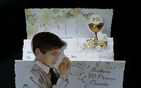 Invitaciones De Primera Comunion (spanish First Communion Invitations),favors