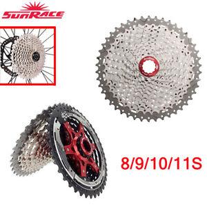 Sunrace-MTB-Road-Bike-Cassette-8-9-10-11Speed-Bicycle-Freewheel-fit-Shimano-SRAM