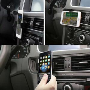 Universal 360 Rotating in Car Air Vent Mobile Phone Holder Mount Bracket Cradle