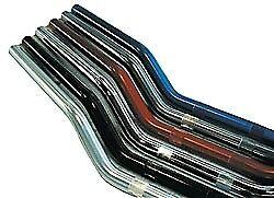 """Abm Lenker Rohr Stahl Chrom 22mm 7/8"""" Superbikelenker Modernes Design"""