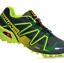 miniatuur 16 - Salomon Speedcross Vario 3 Mens Running Trainers All Sizes Multicolor sneakers