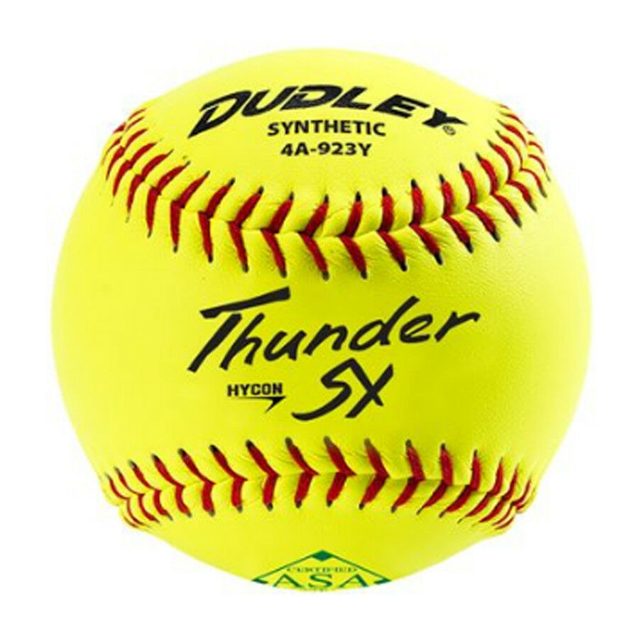 Dudley 11  Synthetic 52 300 Slowpitch Softball - Dozen