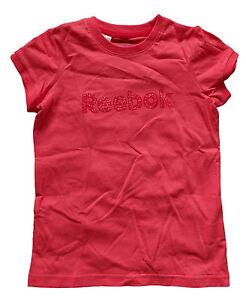 ** Reebok Mädchen Kinder T-Shirt Shirt Graph Stud Tee Victory pink Gr. 140 **