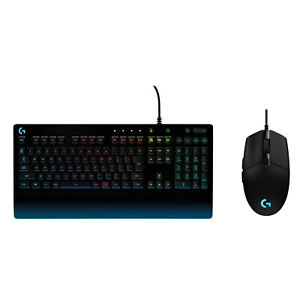 Logitech G213 Gaming Keyboard and Logitech G203 Prodigy RGB Wired Gaming Mouse