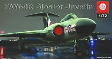 GLOSTER JAVELIN FAW  9R /RANGE/ ( RAF MARKINGS) 1/72 PLASTYK