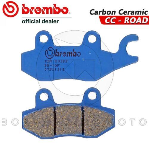 PASTIGLIE FRENO ANTERIORI BREMBO CARBON CERAMIC 07SU1215 SUZUKI DR 350 SM 1995